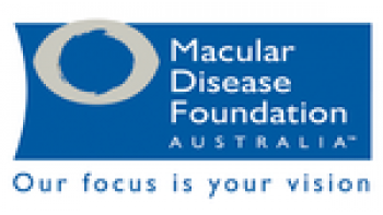 Macular Disease Foundation Australia's logo