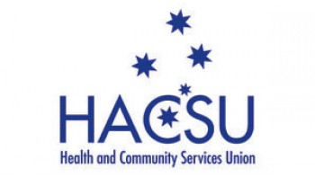 Health and Community Services Union (HACSU)'s logo