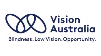 Vision Australia's logo