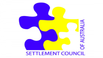 Settlement Council of Australia's logo