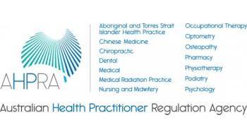 Australian Health Practitioner Regulation Agency (AHPRA)'s logo