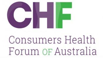 Consumers Health Forum of Australia's logo