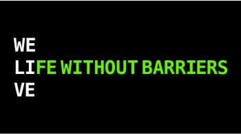 Life Without Barriers's logo