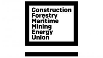 Construction, Forestry, Maritime, Mining & Energy Union's logo