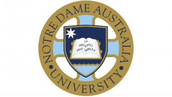 Notre Dame University's logo