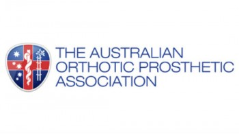 The Australian Orthotic Prosthetic Association's logo