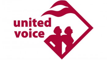 United Voice's logo