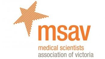 Medical Scientists Association of Victoria's logo