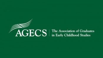 Association of Graduates in Early Childhood Studies (AGECS)'s logo