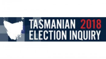 Tasmanian 2018 Election Inquiry's logo