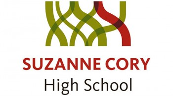 Suzanne Cory High School's logo