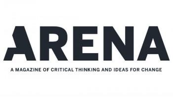 Arena Magazine 's logo